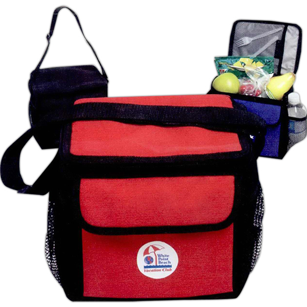 Customized 6 Can Deluxe Cooler Bag