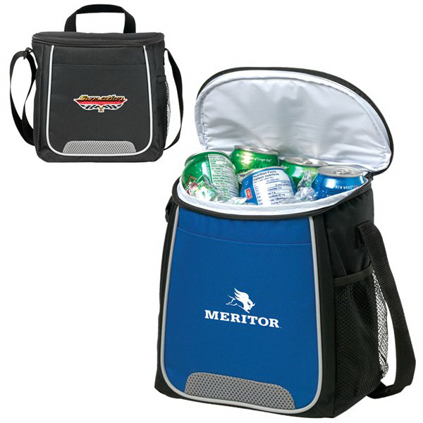 Imprinted 12 Can Rally Cooler Bag