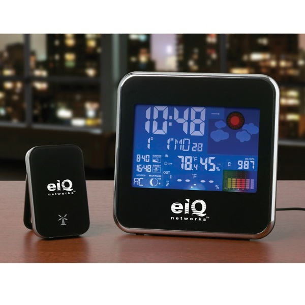 Promotional Equinox Wireless Weather Station with Color Display