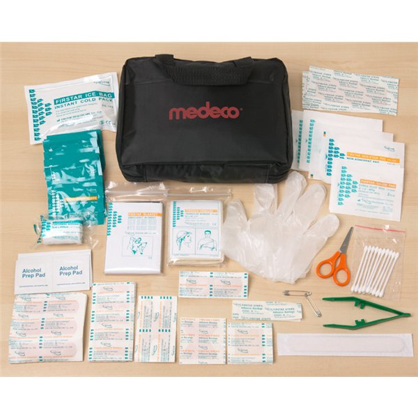 Printed 133 Piece All Purpose First Aid Kit