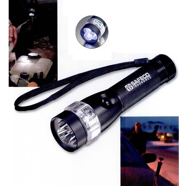 Promotional Emergency Roadside Flashlight (3 LED)