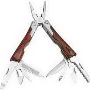 Imprinted Mini wood multi tool