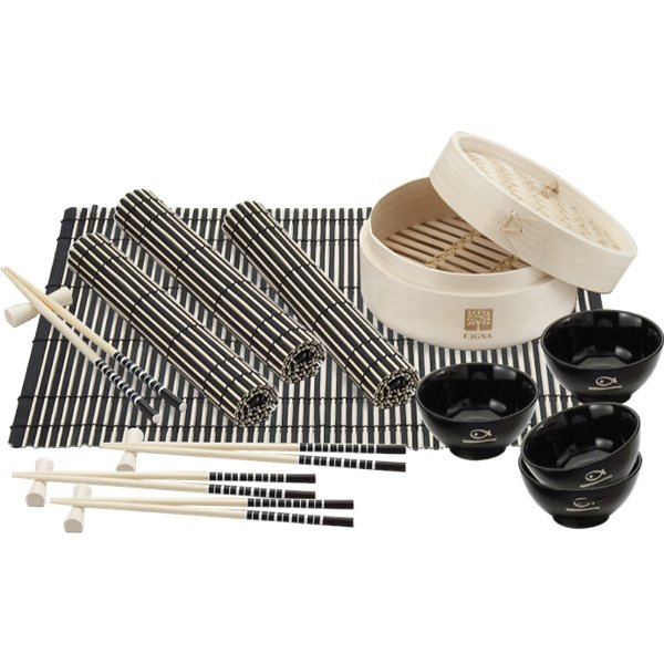 Custom Bamboo steamer set