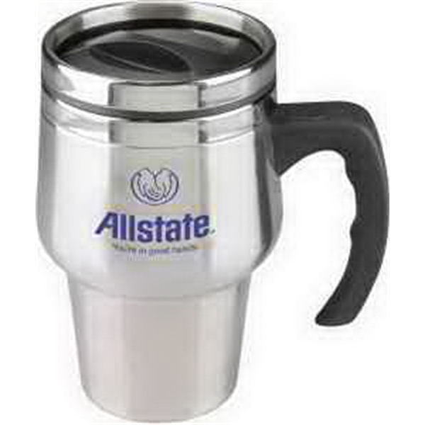 Customized 14 oz Stainless Steel Roadster Travel Mug