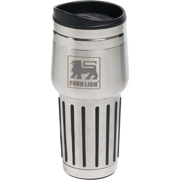Imprinted 15 oz. Quest stainless steel tumbler