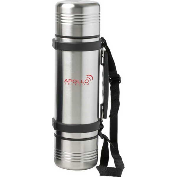 Imprinted 34 oz. Orion 3-in-1 Vacuum Insulated Bottle