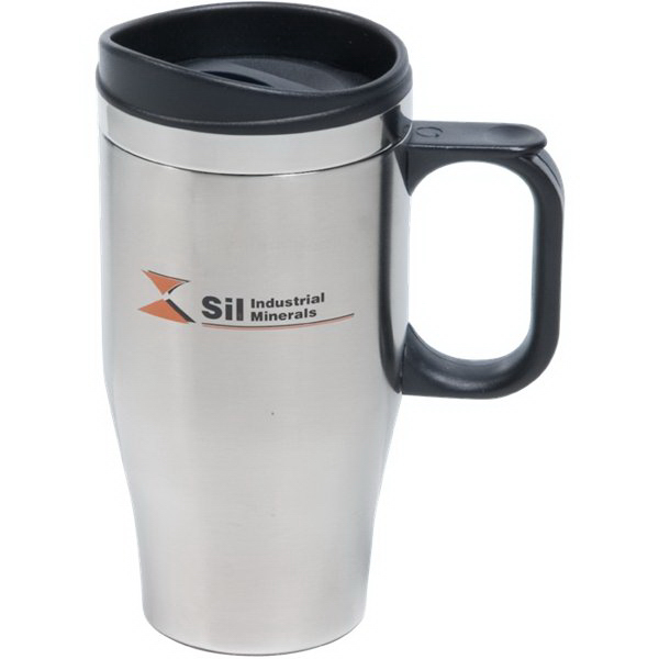 Customized 14 oz. Double Wall Stainless Steel Travel Mug