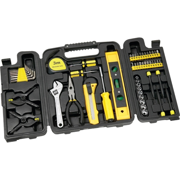 Custom 55 Piece Tri-Fold Tool Set