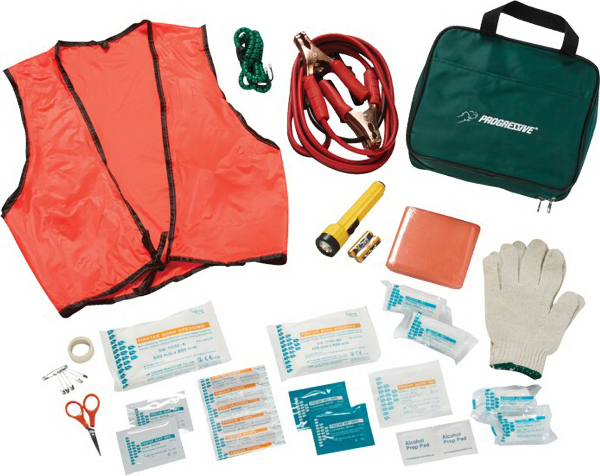 Custom 39 Piece Roadside First Aid Kit