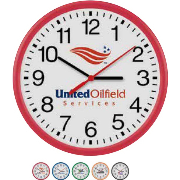 "Promotional 10"" Translucent Wall Clock"