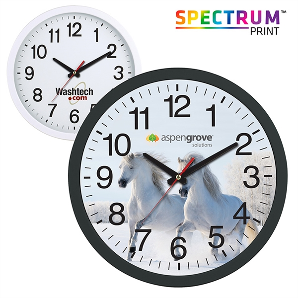 "Imprinted 16"" Giant Wall Clock"