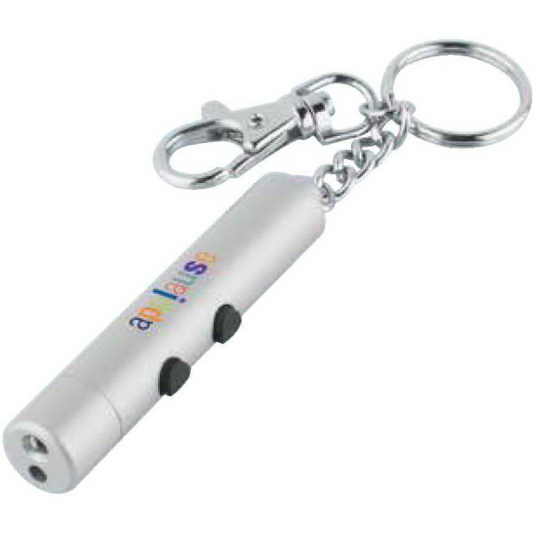 Imprinted Laser Light Key Tag