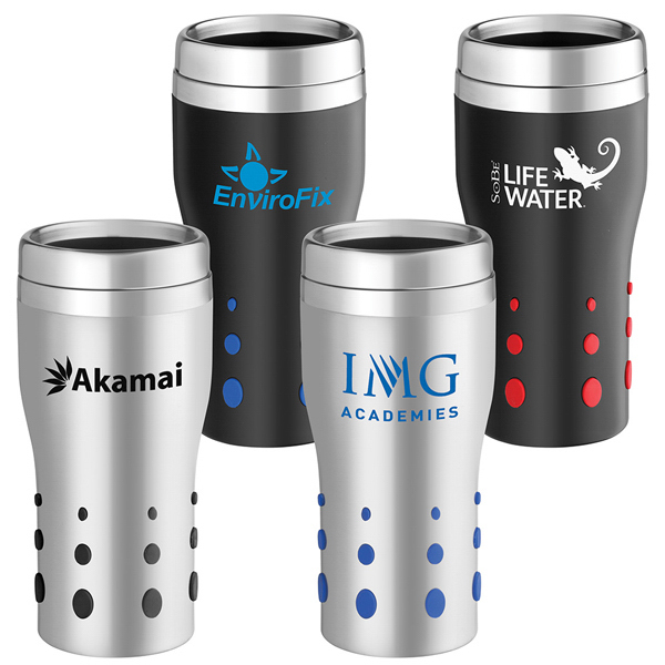 Imprinted Stainless Dot Matrix Tumbler