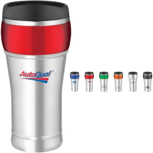 Imprinted 16 oz. Stainless Bubble Tumbler