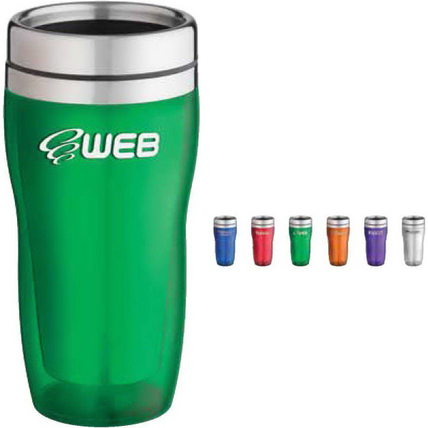 Customized 16 oz. Translucent Curvy Tumbler