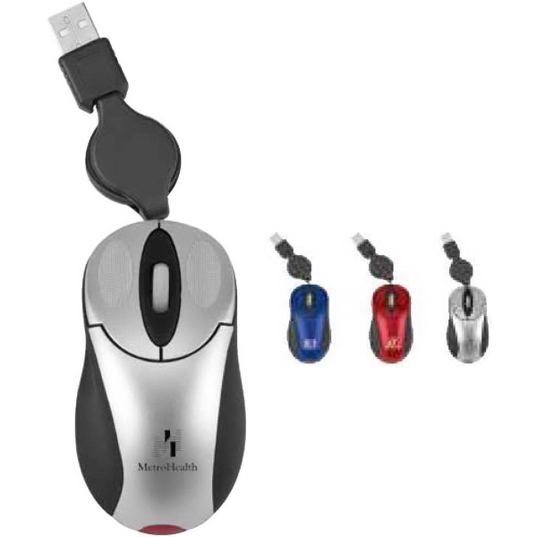 Imprinted Light-Up Optical USB Mouse