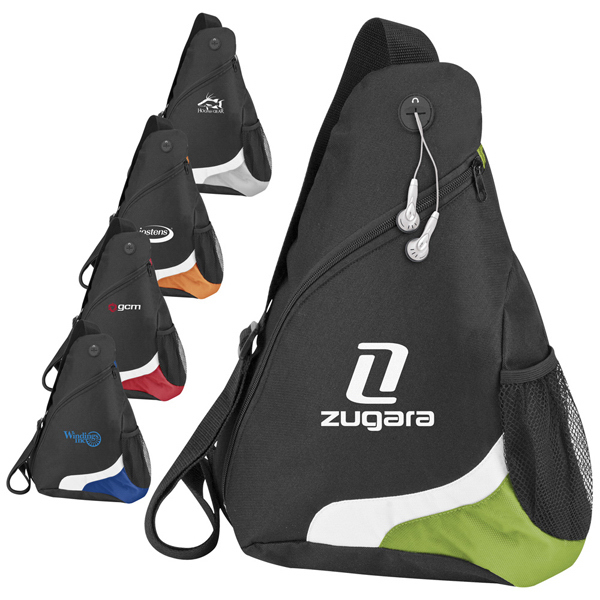 Personalized Over-the-Shoulder Sling Pack