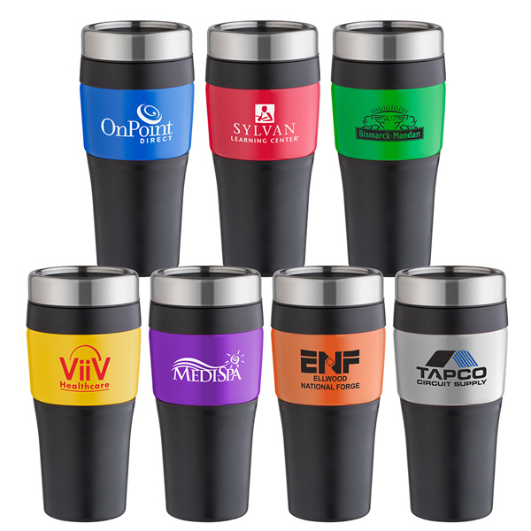 Promotional No-Slip-Grip Color Tumbler