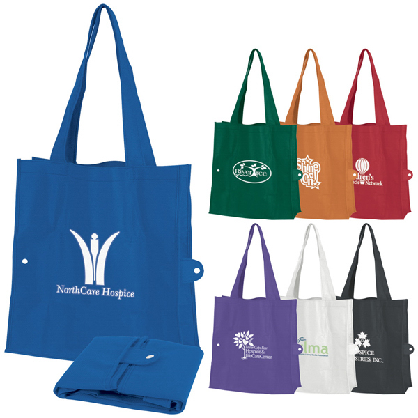 Personalized Tuck-Fold Tote Bag