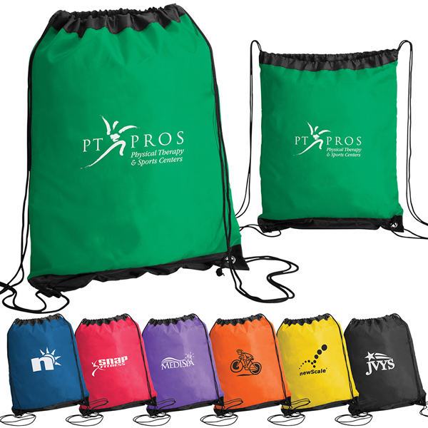 Custom Lightweight Drawstring Pack