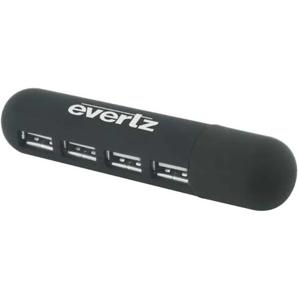 Promotional 2.0 Pocket-Sized 4-Port Hub