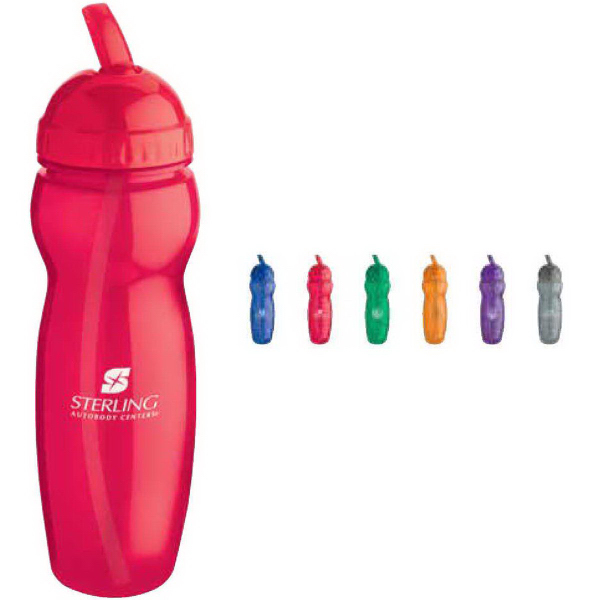 Customized Translucent Water Bottle