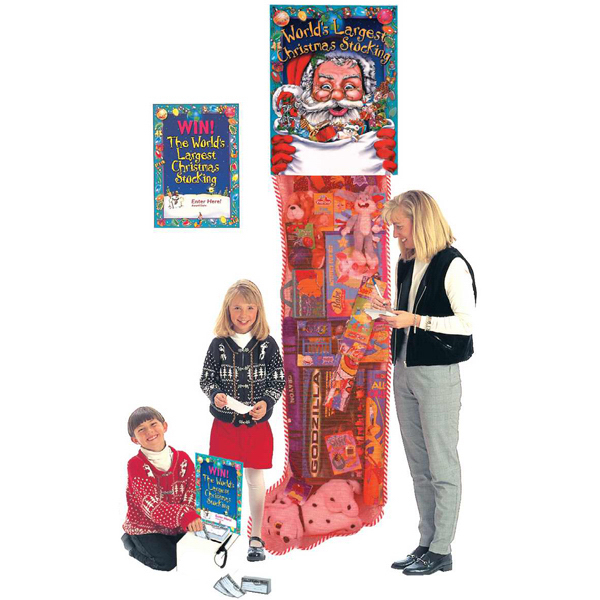 Promotional Filled Christmas stocking