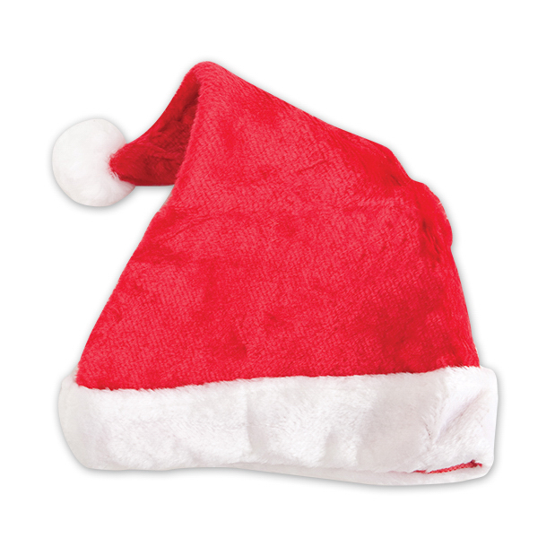 Customized Plush Santa hat