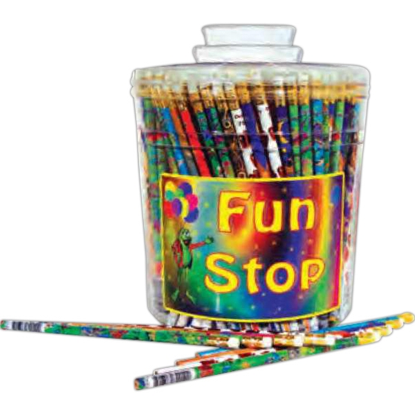 Custom Pencil canister mix