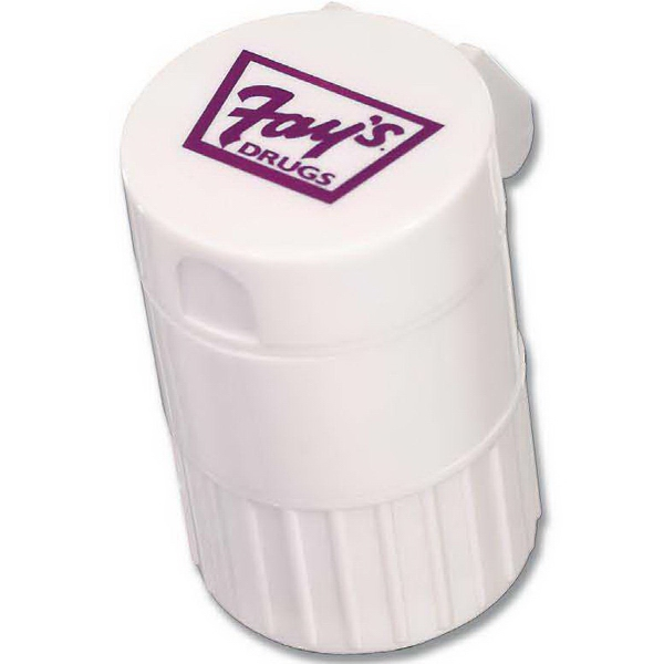 Imprinted 4 in 1 Pill Box