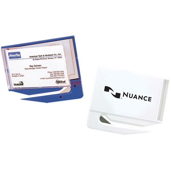 Promotional Business Card/Mirror Letter Opener - Imprinted