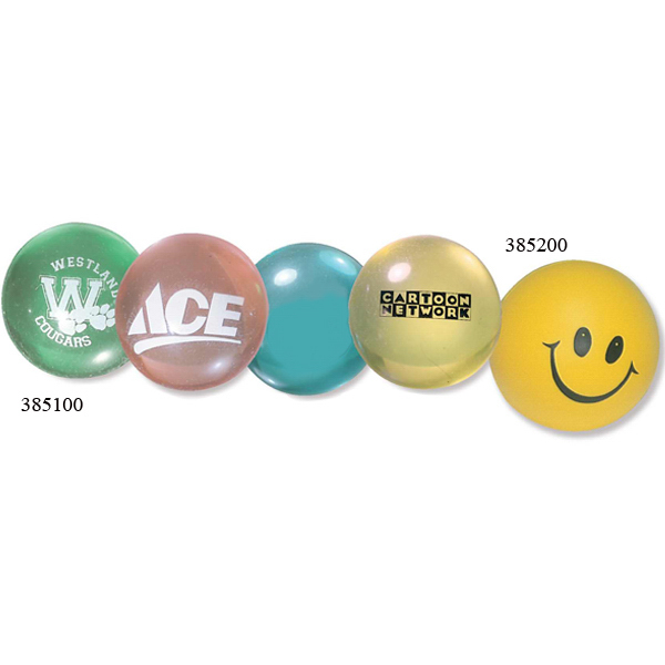 Promotional Happy Face Super Bounce Ball