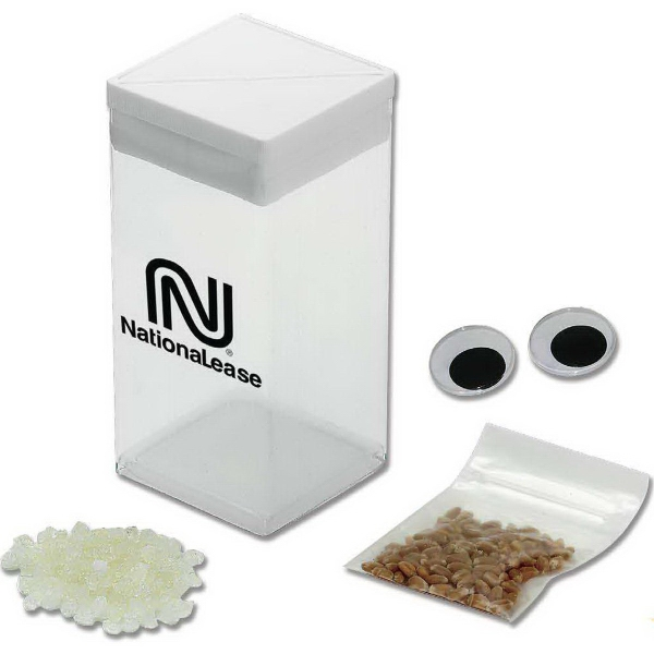 Printed Wheatgrass Grow Kit