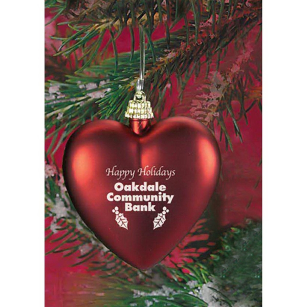 Promotional Heart Shaped Ornament