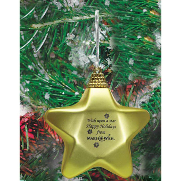 Custom Star Ornament