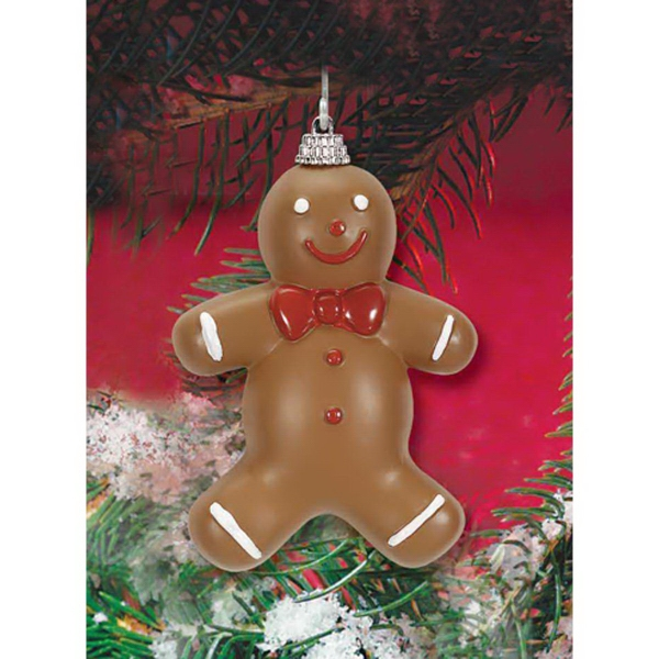Imprinted Gingerbread Ornament