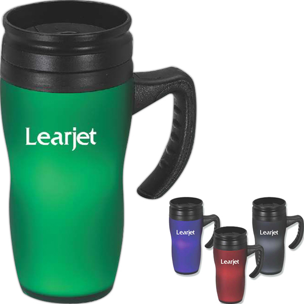 Personalized Softouch Mug and Tumbler, 16 oz