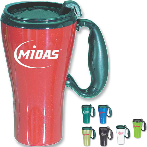 Imprinted Gran Touring Mug, 16 oz