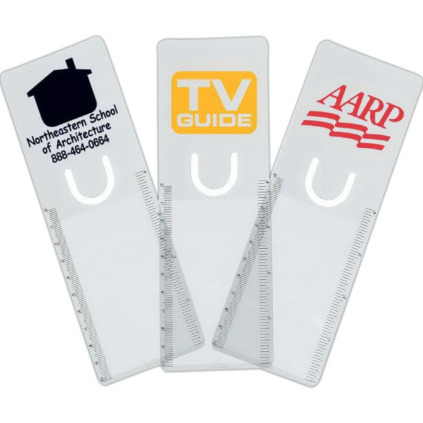 Personalized Clear Bookmark Magnifier