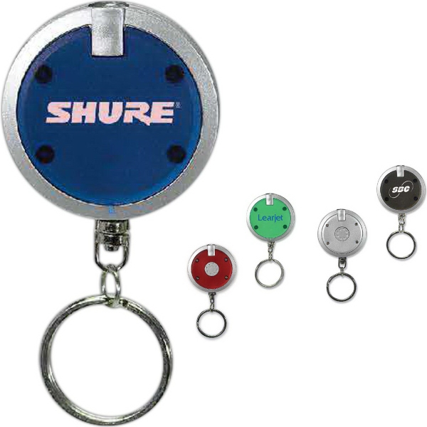 Customized Thin-X Round Keytag