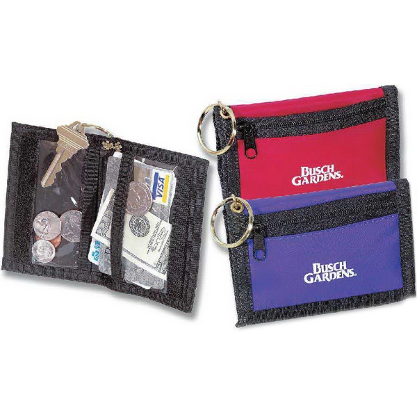 Personalized Key Chain Wallet