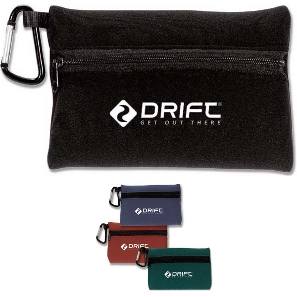 Promotional Foam Pouch with Carabiner