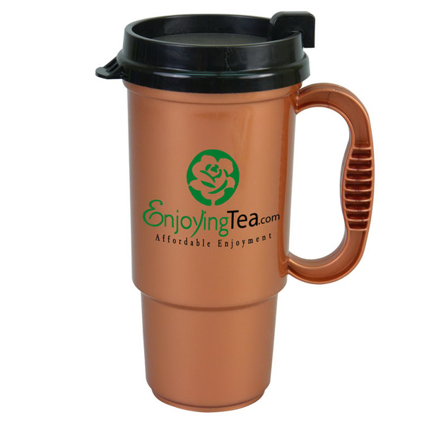 Customized The Commuter 16 oz Insulated Auto Mug
