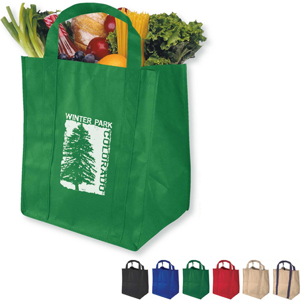 Promotional The Grocer Super Saver Grocery Tote