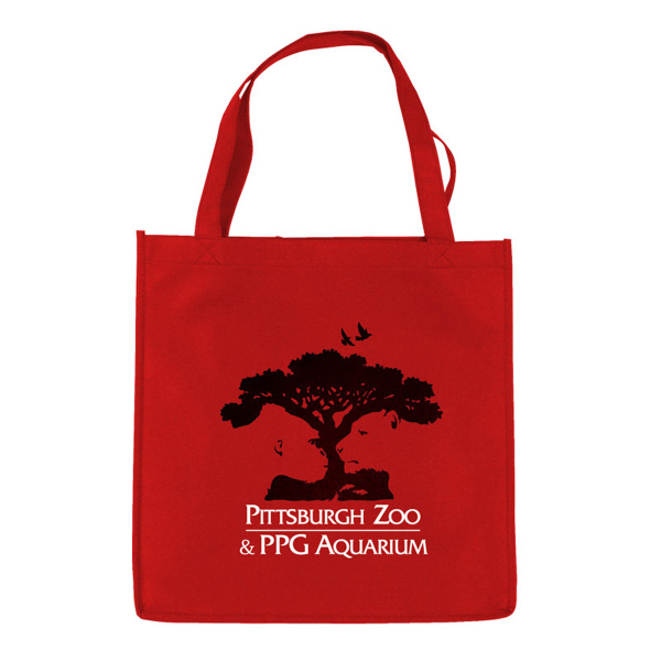 "Imprinted The Economy 13"" Non-Woven Tote"