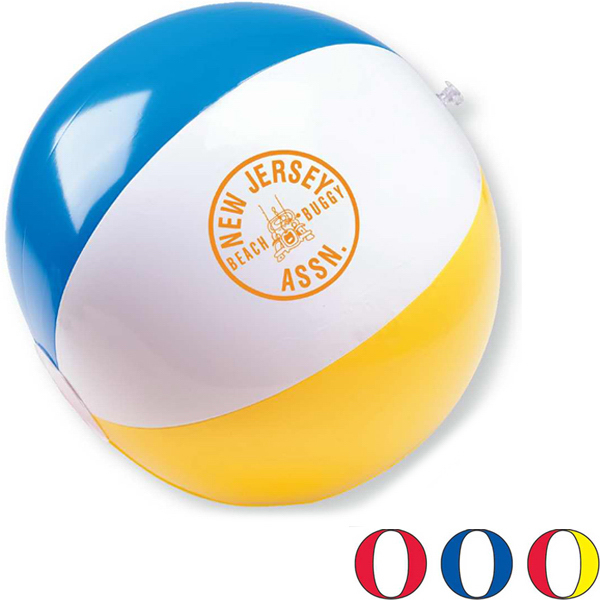 "Customized 11"" Inflatable Beach Ball"