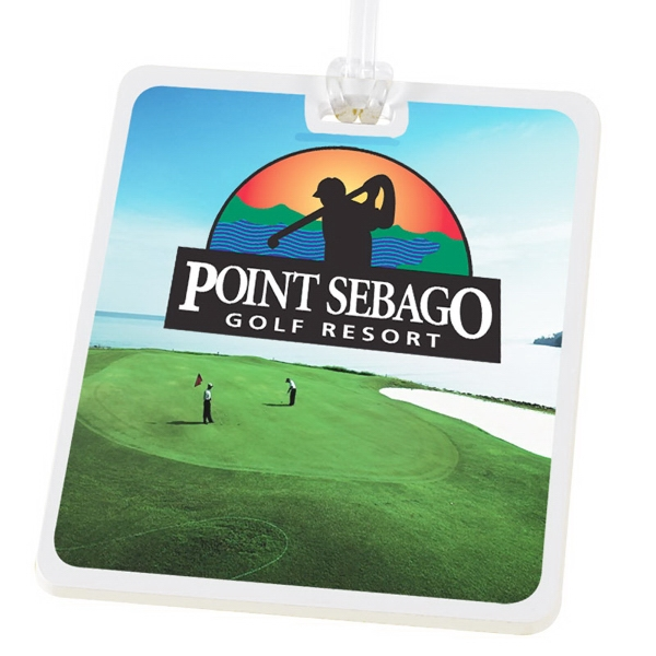 Imprinted Golf Tag