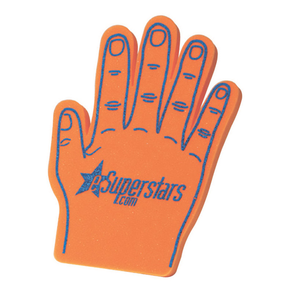 "Custom 16"" High Five Foam Mitt"