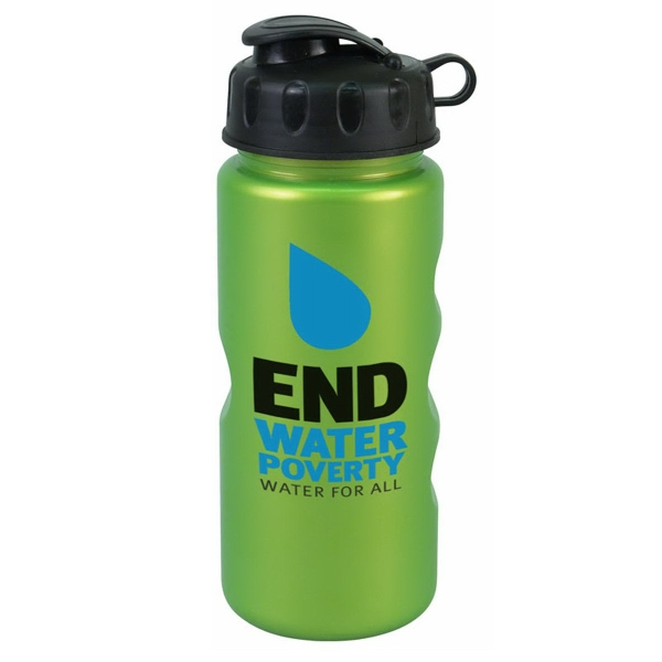 Imprinted The Mini Peak 22 oz Tritan (TM) Metalike Bottle