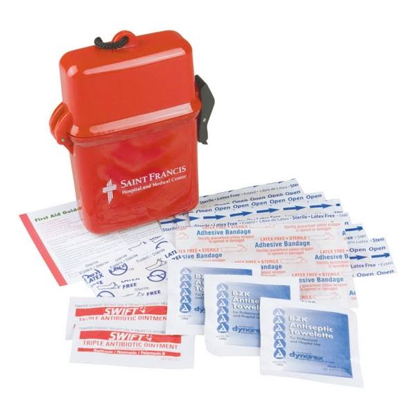 Promotional Lifeline XL Large Neck Tote First Aid Kit